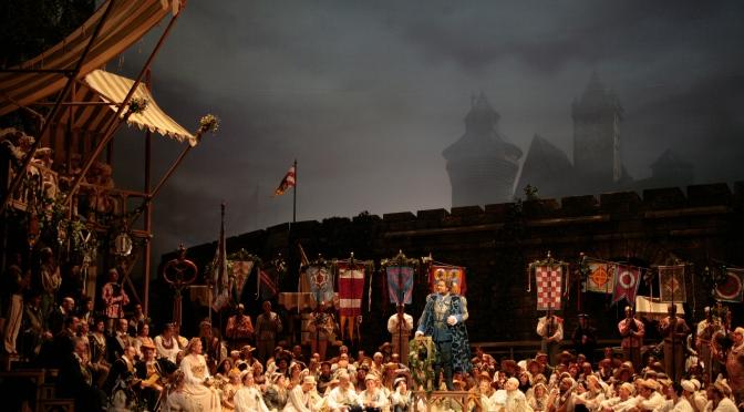 """Метрополитън опера: Майсторско представяне на """"Нюрнбергските майстори певци"""" с диригент Джеймс Ливайн"""