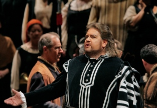 "Johan Botha as the title role in Verdi's ""Don Carlo."" Photo: Ken Howard/Metropolitan Opera."