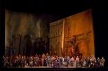 "A scene from Verdi's ""Il Trovatore."" Photo: Ken Howard/Metropolitan Opera Taken during the final dress rehearsal on Febraury 13, 2009 at the Metropolitan Opera in New York City."