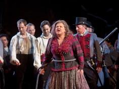 "Dolora Zajick as Azucena in Verdi's ""Il Trovatore."" Photo: Ken Howard/Metropolitan Opera Taken during the final dress rehearsal on Febraury 13, 2009 at the Metropolitan Opera in New York City."