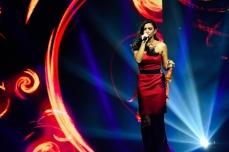 Християна на сцената на X Factor Снимка: Нова телевизия