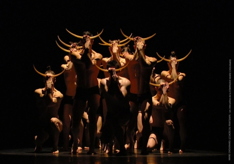 MARIE CHOUINARD  THE RITE OF SPRING  COMPAGNIE MARIE CHOUINARD's dancers