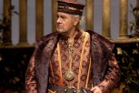 Pl‡cido Domingo in the title role of VerdiÕs ÒSimon Boccanegra.Ó Photo: Marty Sohl/Metropolitan Opera Taken at the Metropolitan Opera during the rehearsal on January 15, 2010.