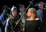 Sondra Radvanovsky in the title role of Bellini's _Norma._ Photo- Ken HowardMetropolitan Opera A scene from Act I of Bellini's _Norma._ Photo- Ken HowardMetropolitan Opera Sondr