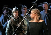Sondra Radvanovsky in the title role of Bellini's _Norma._ Photo- Ken HowardMetropolitan Opera A scene from Act I of Bellini's _Norma._ Photo- Ken HowardMetropolitan Opera Sondr