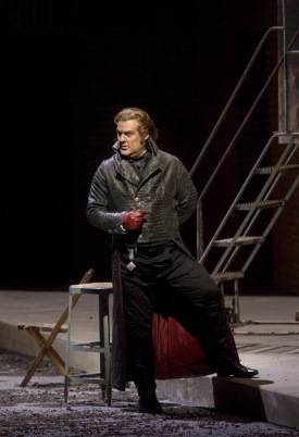 "Bryn Terfel as Scarpia in Puccini's ""Tosca."" Photo: Cory Weaver/Metropolitan Opera Taken at the Metropolitan Opera on April 14, 2010"