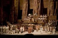 "A scene from Verdi's ""Aida"". Photo: Marty Sohl/Metropolitan Opera"